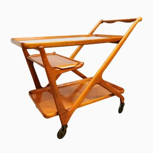Vintage Italian Bar Serving Trolley by Cesare Lacca