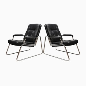Vintage Armchairs by Gerd Lange for Drabert, Set of 2