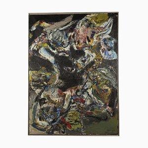 Henk Schuring, Ohne Titel, Öl auf Leinwand