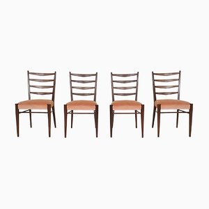 Model ST09 Teak Dining Chairs from Pastoe, 1960s, Set of 4