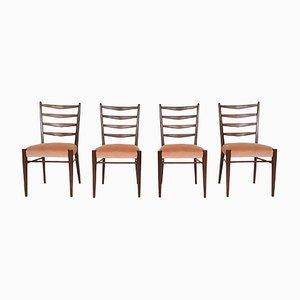 Modell ST09 Esszimmerstühle aus Teak von Pastoe, 1960er, 4er Set