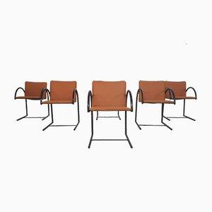 Cirkel 1 Dining Chairs by Karel Boonzaaijer & Pierre Mazairac for Metaform, The Netherlands, 1980s, Set of 6