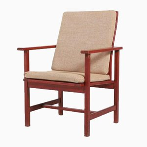 Model 2257 Armchair by Borge Mogensen for Fredericia Furniture, Denmark, 1960s