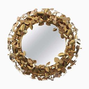 Corona de espejo con iluminación