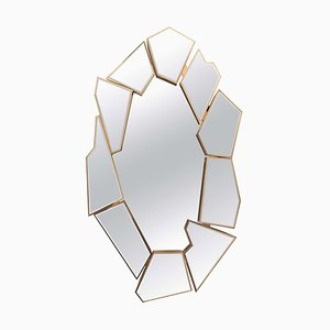 Mirror with Glass Shards