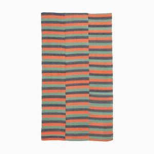 Vintage Orange Kilim Rug