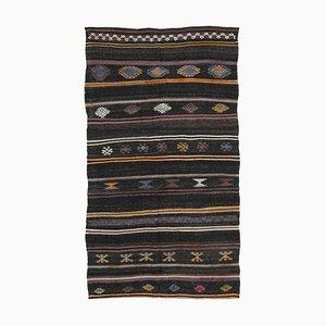 Vintage Turkish Brown Area Rug