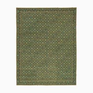 Green Oushak Rug