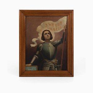 Giovanna d'Arco, olio su tela
