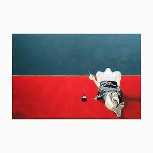 Anna Malikowska, Miss Jane, pittura figurativa contemporanea in acrilico su tela, 2014