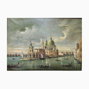 Malereien, Öl auf Leinwand, 19. Jahrhundert, Venedig, F. Guarana