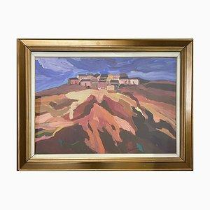 Öl auf Leinwand, Xavier Terruso, Landschaft, 20. Jh