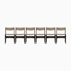 Rosewood Dining Chairs by Erik Buch from Oddense Maskinsnedkeri / o.d. Møbler, Set of 6