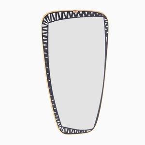 Großer Spiegel von Tacchini Dorian, 1970er