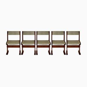 Esszimmerstühle von Gangso Mobler, 5er Set