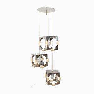 Cube Cascade Pendant Lamp by Goffredo Reggiani for Reggiani, 1970s