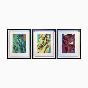Triptychon von Radek Husak, 3er Set