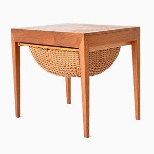 Sewing Table in Teak by Severin Hansen for Haslev Møbelsnedkeri, Denmark, 1960s