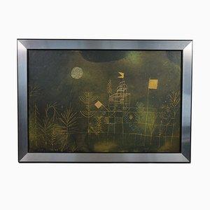 Mid-Century Druck, Landschaft, Paul Klee