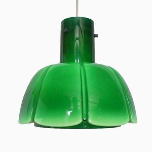 Mid-Century Glass Pendant Lamp from Peil & Putzler