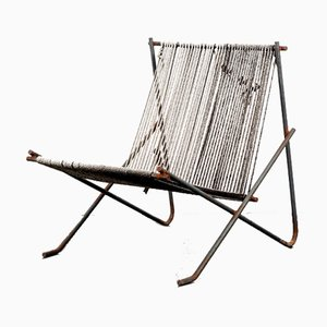 Large Flag Chair by Poul Kjaerholm in the Style of Prototyp