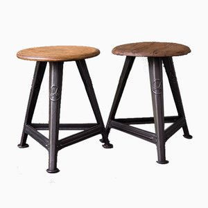 Workshop Stool by Robert Wagner for Rowac, 1920s, Set of 2