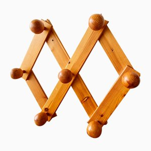 Perchero Mid-Century de madera