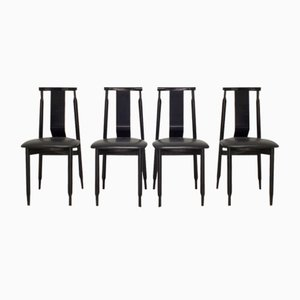 Lierna Chairs by Achille and Pier Giacomo Castiglioni for Gavina, Set of 4