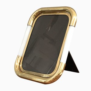 Frame in Brass and Glass by Tommaso Barbi, 1970s