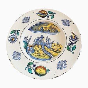 Large Vintage Serving Plate from Ulmer Keramik, 1970s