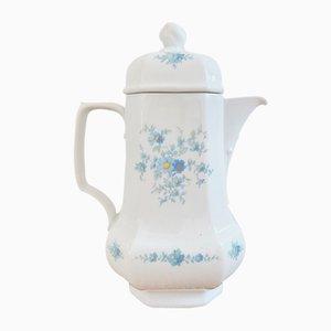 Vintage Botanica Teekanne aus Porzellan von Seltmann Weiden Bavaria