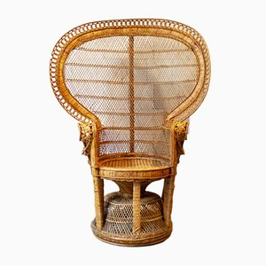 Peacock Armchair from Emmanuelle, 1970s