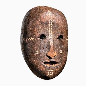 Demokratische Republik Kongo Gepunktete Polychrome Ngbaka Gesichtsmaske