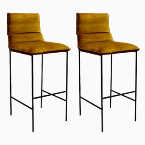 Jeeves Bar Chairs, Set of 2