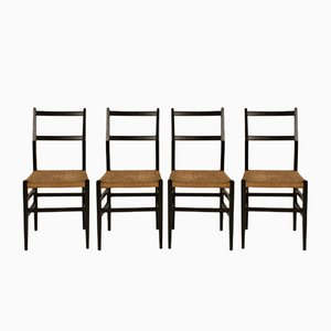 Dining Chairs from Gio Ponti, 1950s, Set of 4