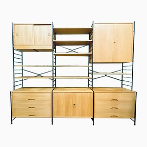 Large Vintage Shelving System from WHB, 1960s, Set of 21