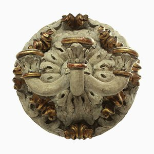 Large Carved Wall Sconce, 1800s