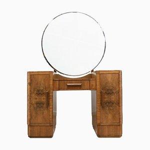 Vintage Burr Walnut Dressing Table