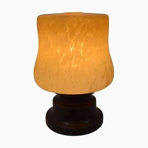 Lampada da tavolo in ceramica, anni '70