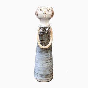 Madame francesa de cerámica de Dominique Pouchain, años 90