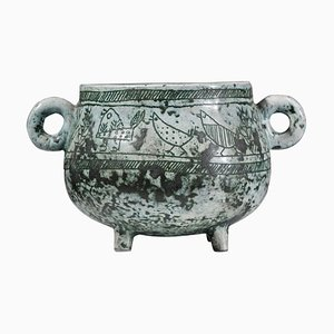 Zuppiera in ceramica di Jacques Blin, Francia, anni '60