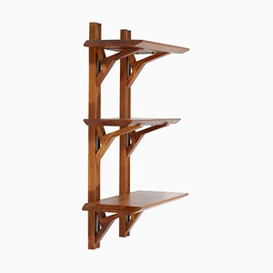 Elm Wall Shelves by Pierre Chapo for Cor, 1960s