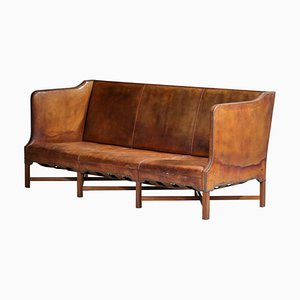 Dänisches Modell 4118 3-Sitzer Sofa von Kaare Klint für Rud Rasmussen