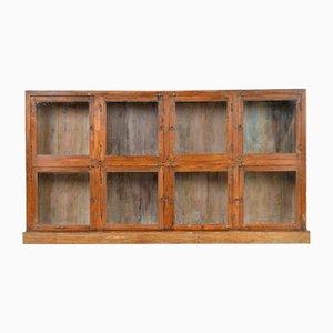 Glazed Wood Lockers