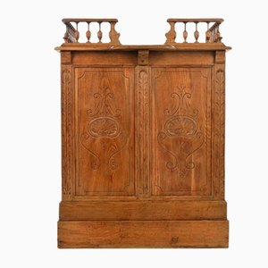 Henry II Style Wooden Counter