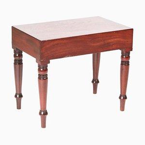 Victorian Antique Mahogany Bidet/Lamp Table