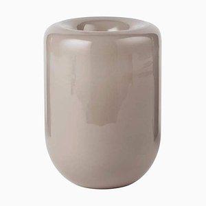 Beige Opal L Vase by Kristina Dam Studio