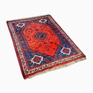 Vintage Red Middle Eastern Carpet