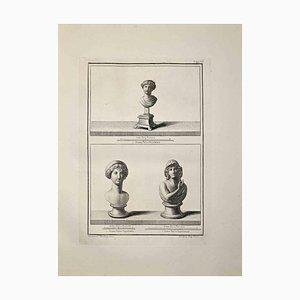 Nicola Billy, Busti antichi romani, fine XVIII secolo