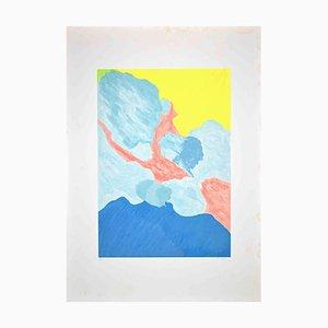 Giulio Turcato, Abstract Composition, Original Screen Print, 1970s